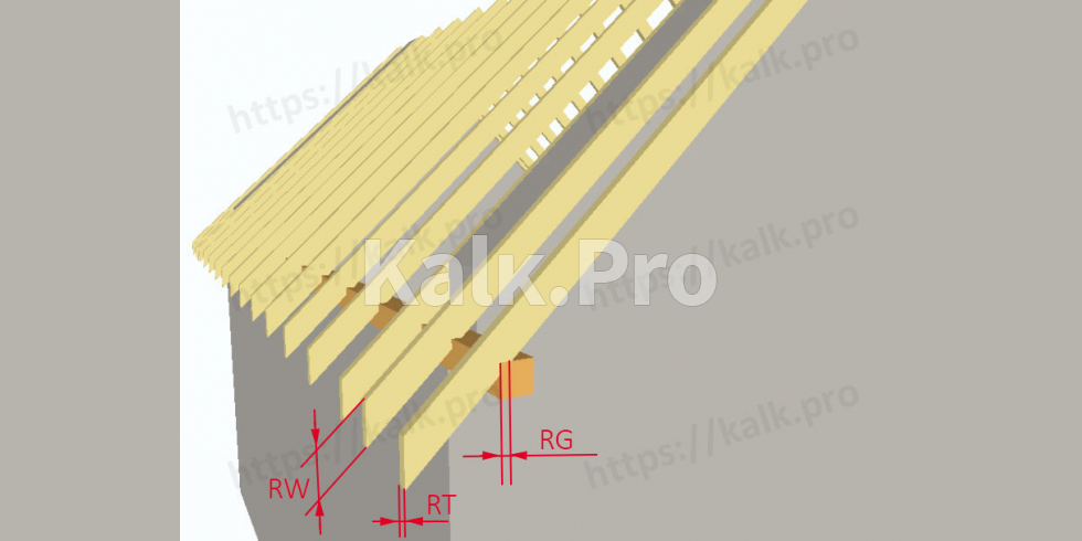 Gable Roof Calculator Building Materials Rafters