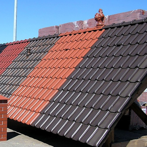 The choice of roofing material for roof