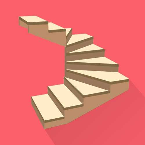 Calculation Of Stairs With Winder Steps Turning 180 Degrees