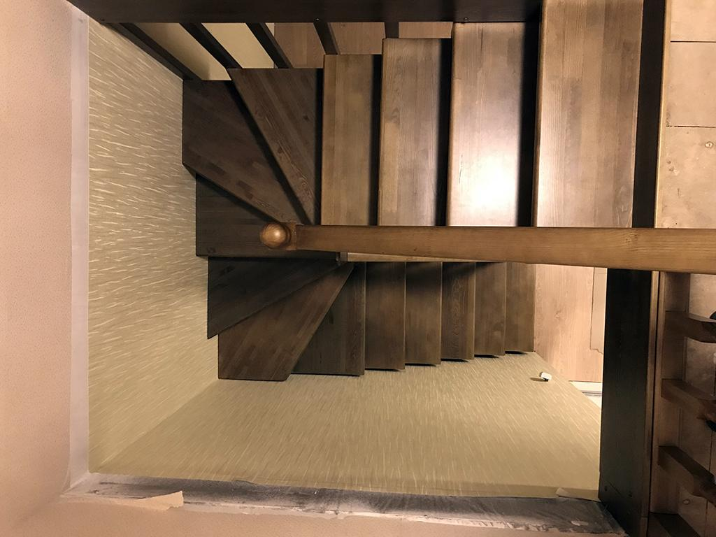 What ended the manufacture of stairs with winder steps?