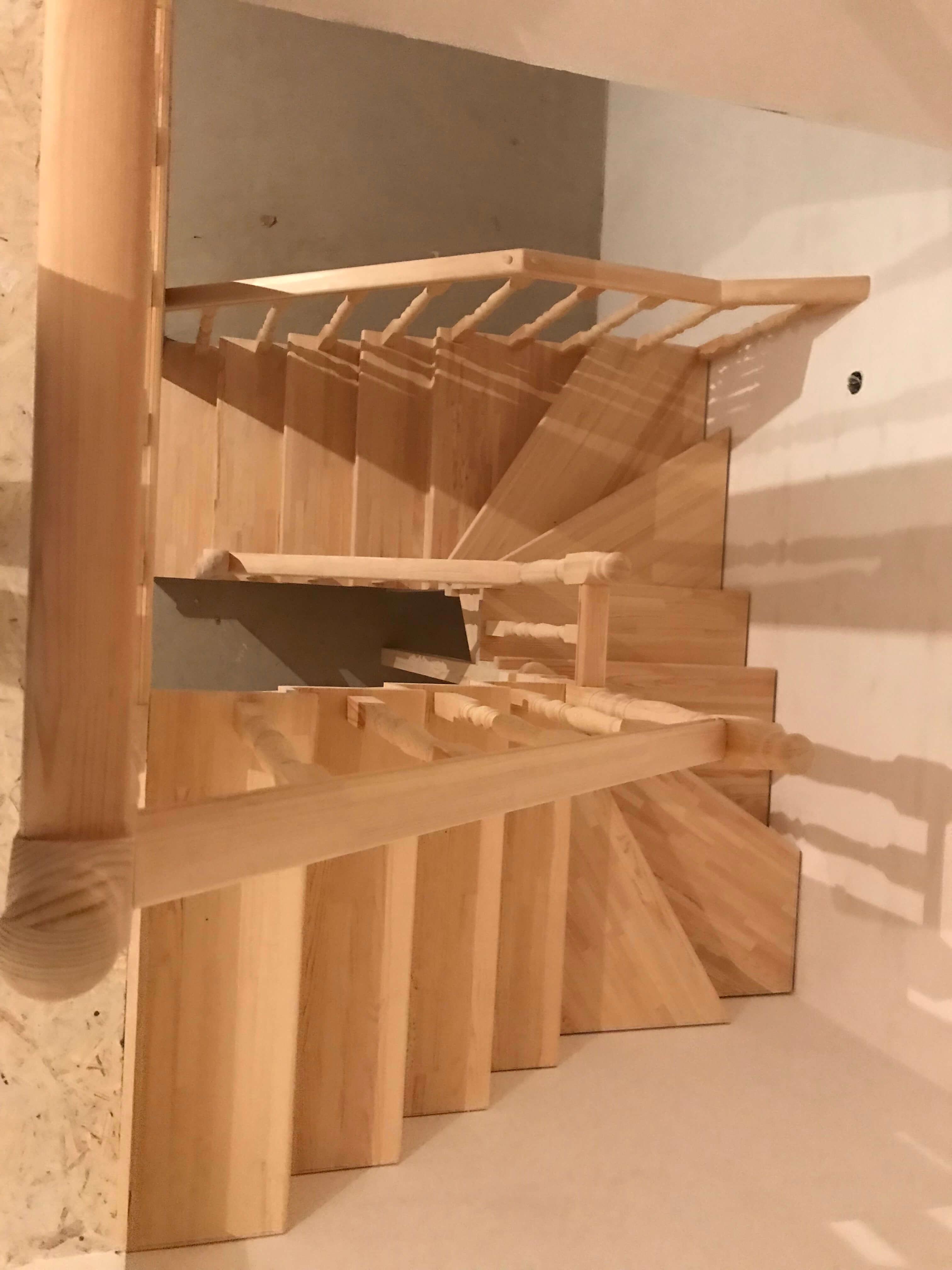 Маршевая лестница своими руками - легко!