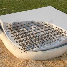 калькулятор бетона плита