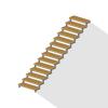 Расчет прямой лестницы на ломаных косоурах – Онлайн-калькулятор с чертежами